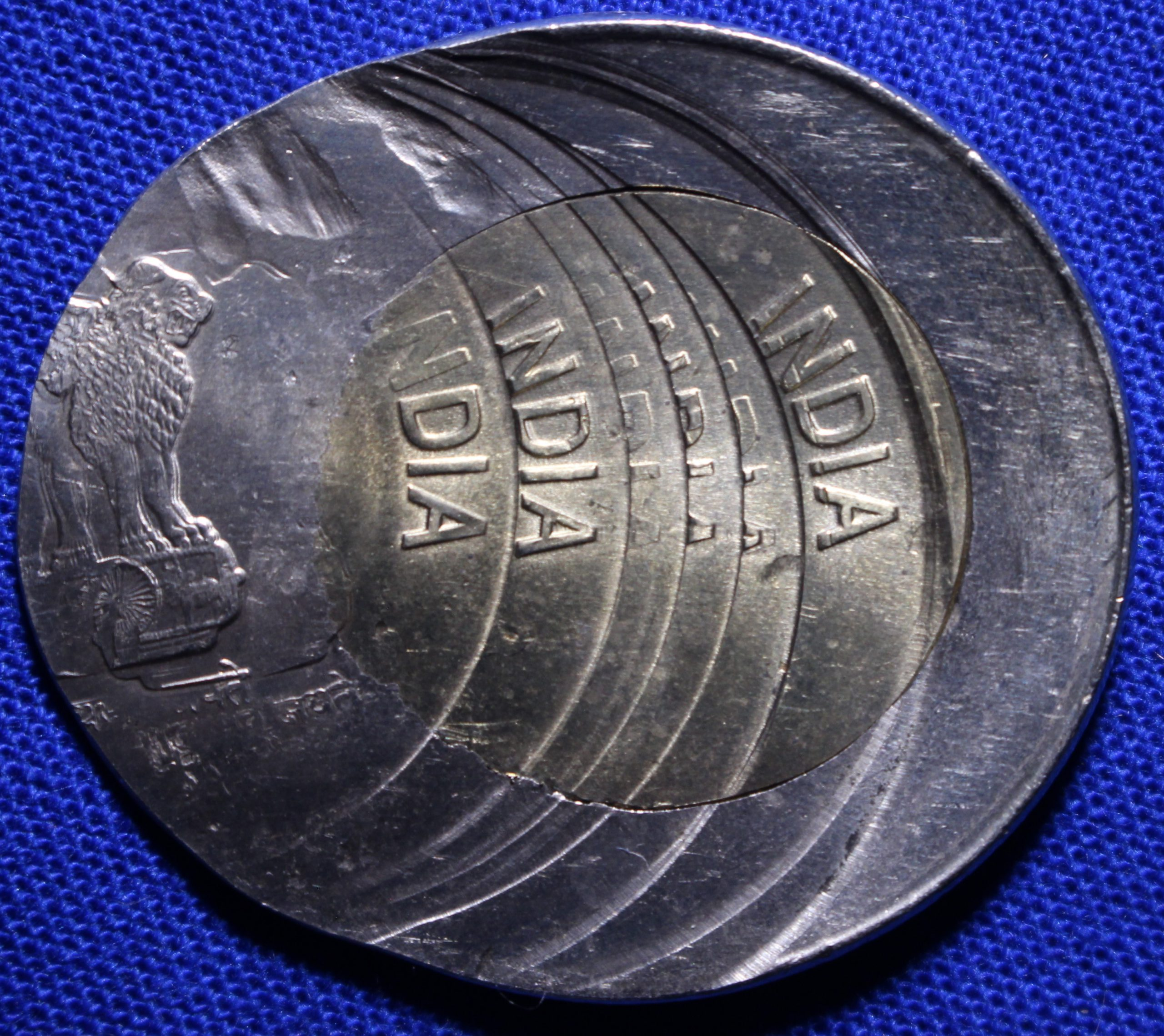 Major Error Coins from India