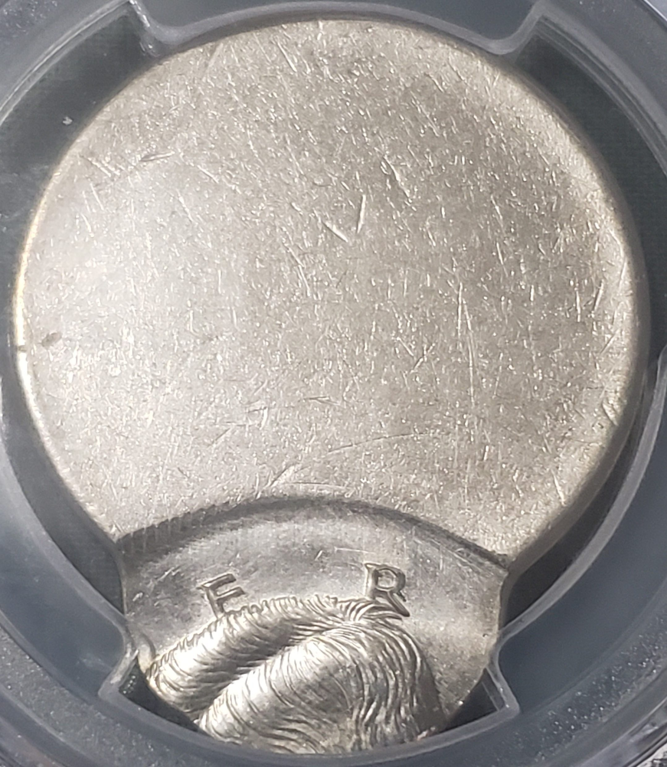 How are off center coins made?